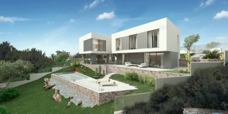 Stunning project for sale in Santa Ponsa