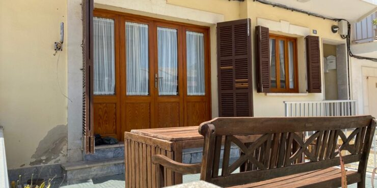 Beautiful ground floor apartment for rent in Can Picafort