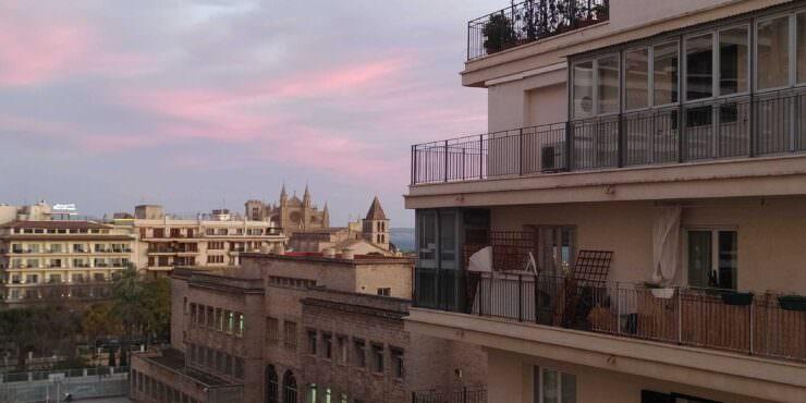 Bright, unfurnished apartment for rent in Palma de Mallorca